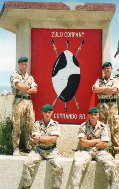 Zulu Company 45 Commando Royal Marines – Iraq in 1991